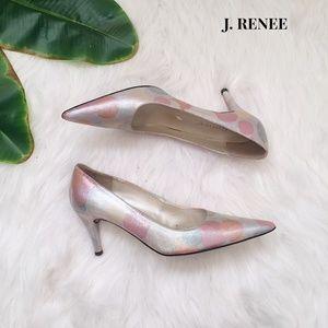 ✨Vintage✨ J Renee Olivia Pastel Pointy Toed Heels